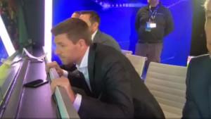 Haos u studiju: Gerrard pao u trans nakon Salahovih golova