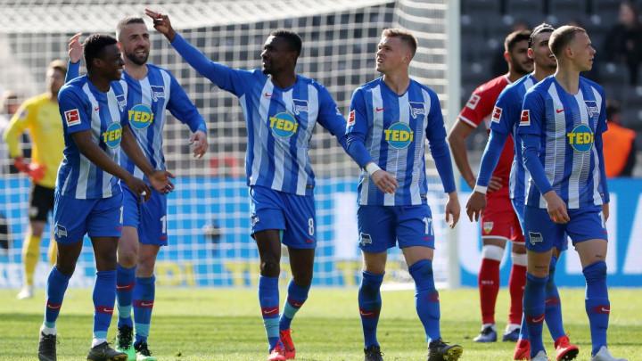 Dan nakon okončanja Bundeslige Hertha se razišla sa petoricom igrača
