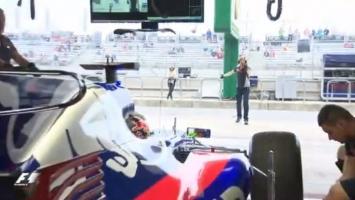 Prvi momenti Hartleya u F1