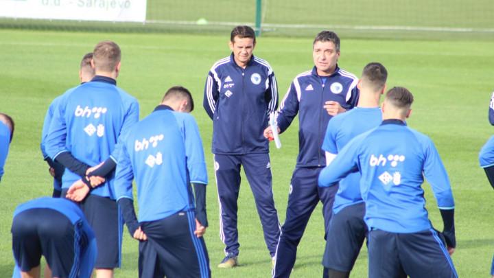 Dujaković otpao radi povrede, Gojak trenirao odvojeno od ekipe