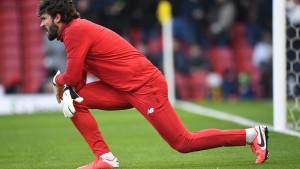 Alisson je izgubio samo jednu utakmicu na Anfieldu, ali tada nije bio član Liverpoola