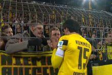 Navijači Dortmunda poslali poruku Matsu Hummelsu