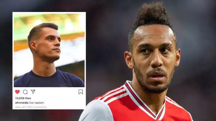 Xkaha izabran za novog kapitena Arsenala, a onda je jasan komentar dao Aubameyangov brat