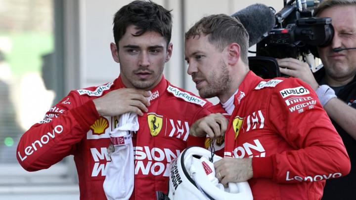 Leclerc poslao poruku Vettelu: Bila mi je čast biti tvoj timski kolega
