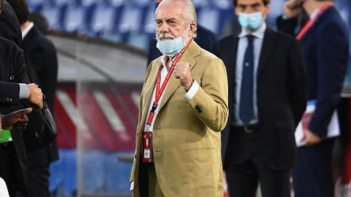 Panika u italijanskim klubovima: De Laurentiis pozitivan na korona virus ali to nije ono najgore
