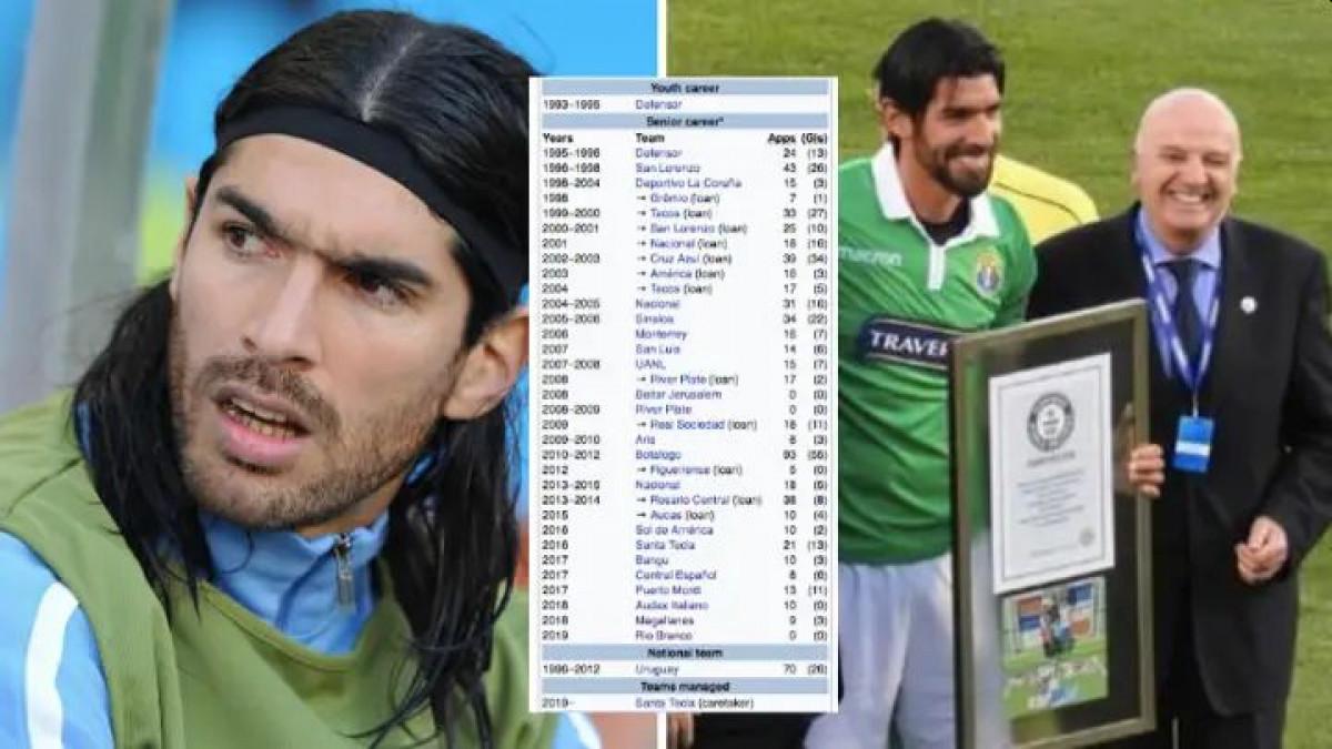 Apsolutni rekorder: Legendarni Urugvajac ima 44 godine i potpisao je za 30. klub u karijeri