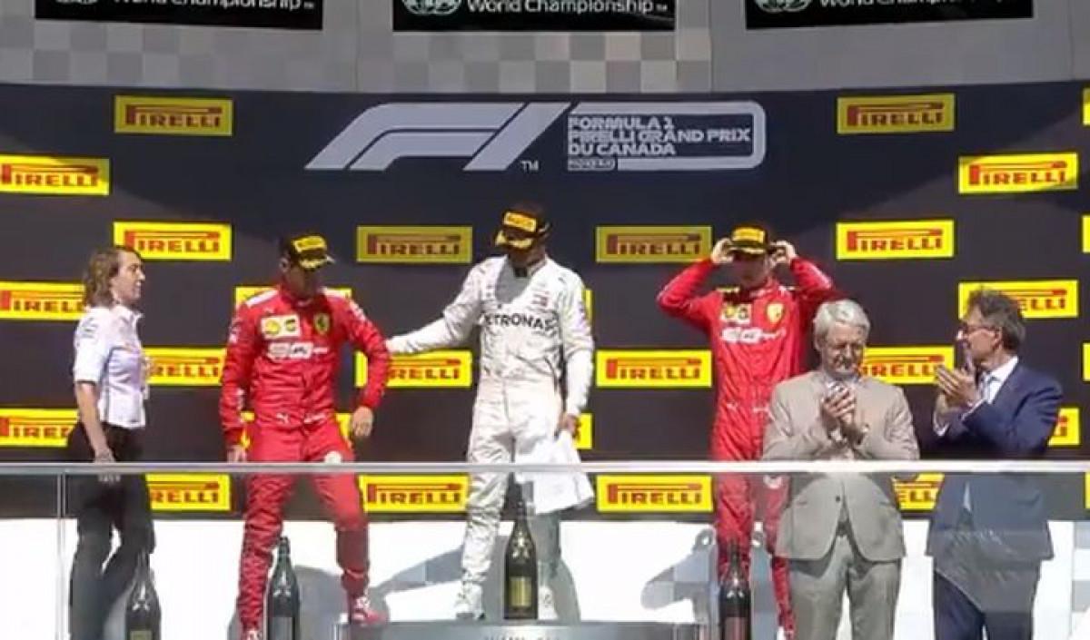 Hamilton povukao Vettela na prvo mjesto na postolju, ali je Nijemac bio itekako bijesan