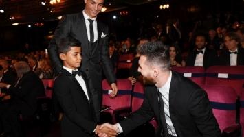 Ronaldo: Često ne mogu sina nagovoriti da jede