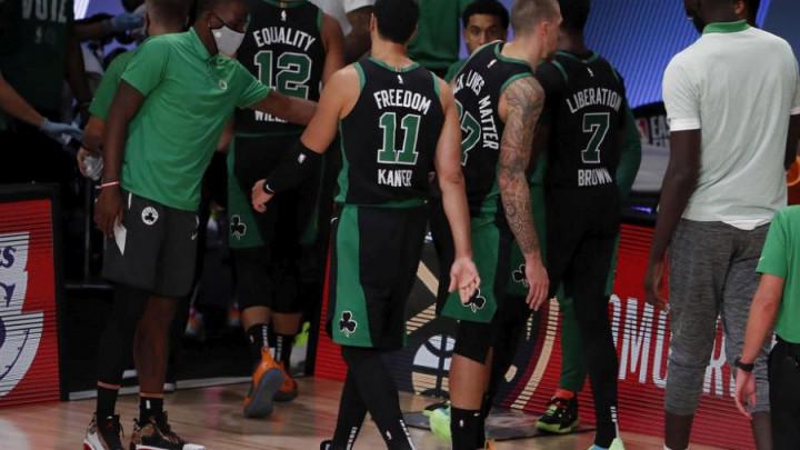 U svlačionici Celticsa bilo je svega: Svi ste u ovom sr*nju