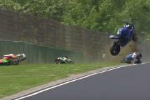 Stravična nesreća u Imoli: Motocikli letjeli na sve strane
