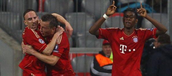 Bayern u polufinalu, Olić dvostruki strijelac