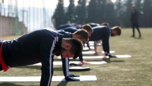 Zrinjski trenirao u Sport centru, svi igrači zdravi