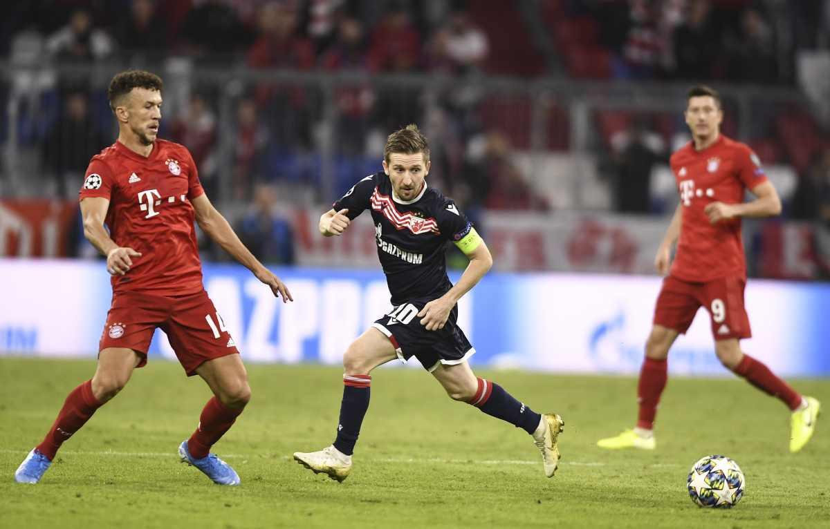 Perišić nakon 'trice' čestitao Crvenoj zvezdi