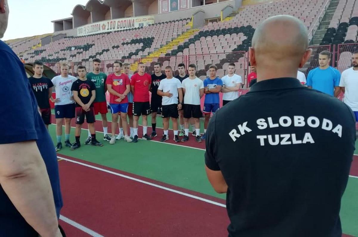 Rukometaši Slobode upalili motore: Počele pripreme za novu sezonu