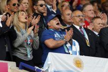 Ovako to  izgleda kad Maradona navija