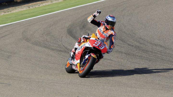 Šampionska vožnja Marqueza u Aragonu