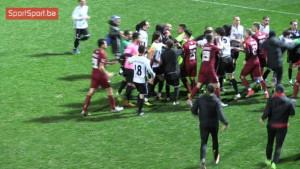 Pogledajte masovnu tuču igrača FK Sarajevo i gruzijskog WIT-a