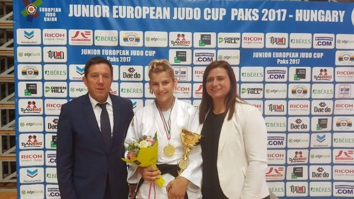 Aleksandra Samardžić osvojila zlato na Evropskom kupu