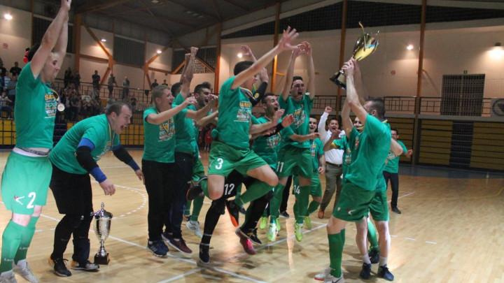 Futsal sve populariniji u BiH: Mostar SG na osvajanju titule predstavio himnu