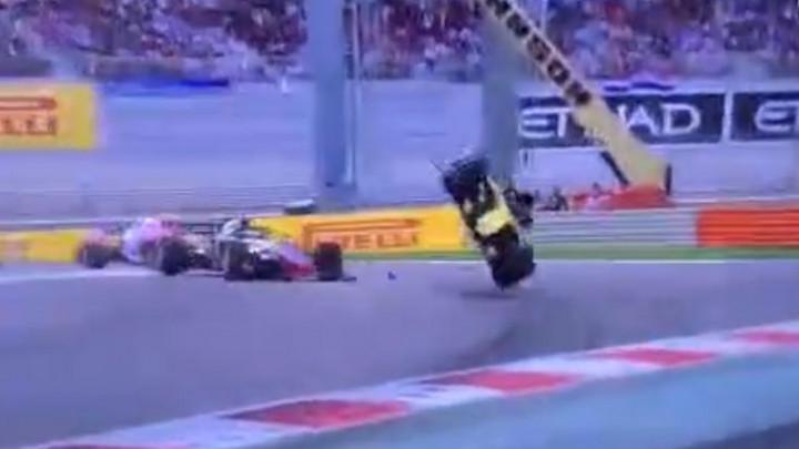 Veliki incident u Formuli 1: Nico Hulkenberg se prevrnuo nekoliko puta!