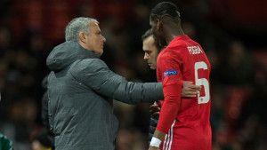 Šta je Mourinho sinoć objašnjavao Pogbi pred izmjenu?