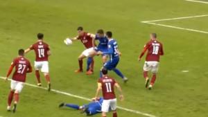 Igrači Širokog tražili penal, a Mujić samo odmahnuo rukama