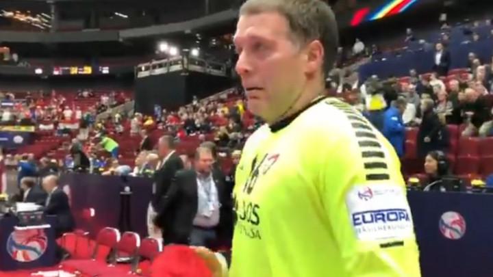 Sa 42 godine dočekao da brani za reprezentaciju na Euru i zaplakao od sreće