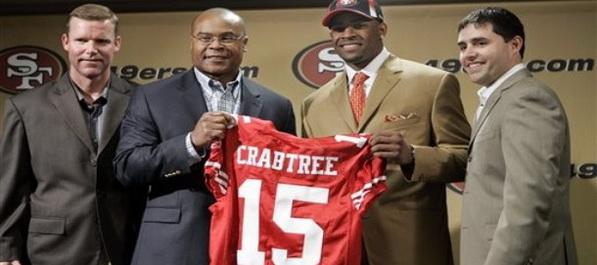 Crabtree konačno potpisao s 49ersima
