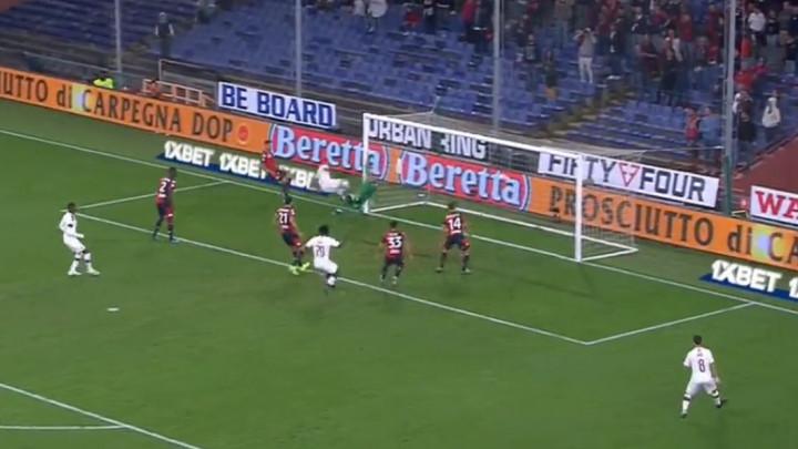Milan se vraća: Theo Hernandez zabio iz 'nemoguće' pozicije