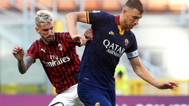 Milan udaljio Romu od Lige prvaka, Džeko se nije proslavio na San Siru