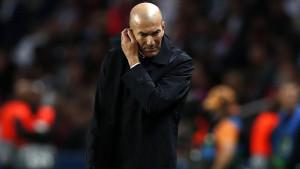 Zidane: PSG je bio bolji u svemu