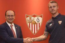 Sevilla potvrdila: Kjaer potpisao do 2021. godine