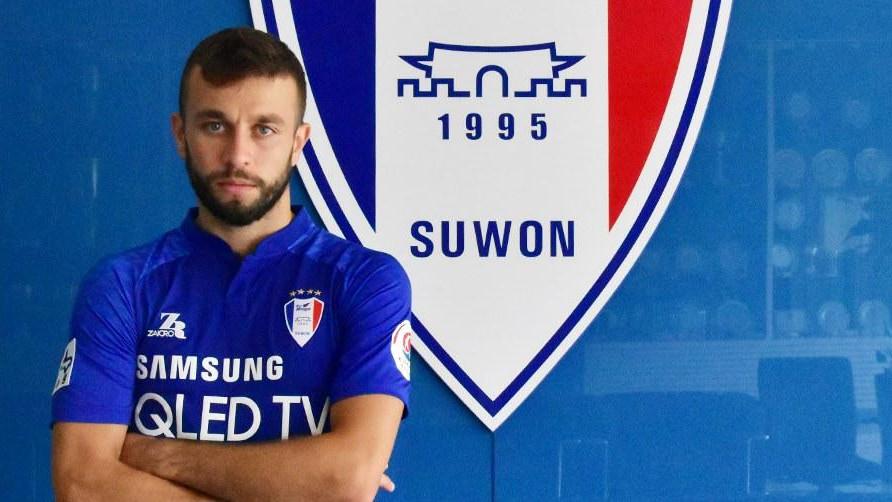 Sarić debitovao za južnokorejski Suwon Samsung
