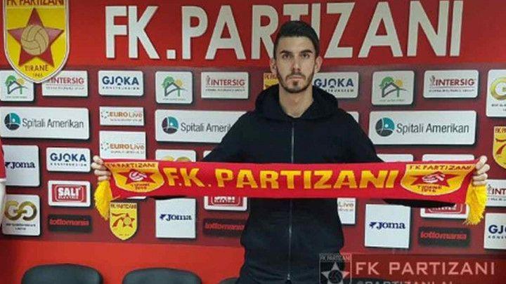 Gojković karijeru nastavlja u Albaniji