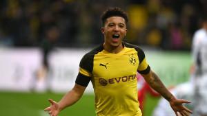 Jadon Sancho današnjim golom protiv Hoffenheima ušao u historiju Bundeslige