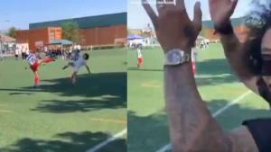 Marcelo je bio oduševljen nakon što je njegov sin postigao majstorski gol