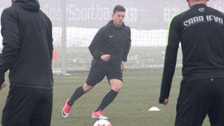 Fudbaleri Sarajeva se spremaju za zadnju prvenstvenu utakmicu u 2017. godini