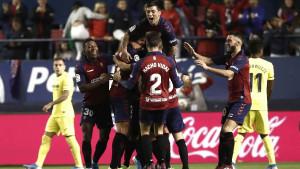 Preokret Osasune protiv Villarreala