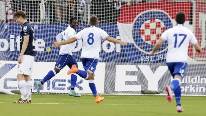 Hajduk u drugom poluvremenu razbio Inter iz Zaprešića