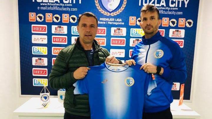 Ivan Sesar potpisao za FK Tuzla City