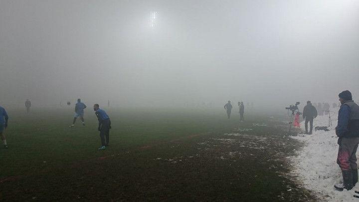 Pala magla do pola Grbavice: Odgođen meč Željo - Široki
