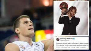 Srbijanski košarkaš objavom o Modriću digao region na noge: Ko je taj Luka?
