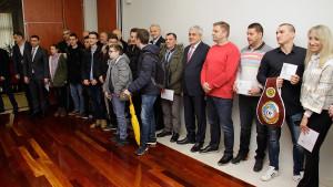 Ljubo Bešlić nagradio najbolje sportske kolektive i sportiste Mostara