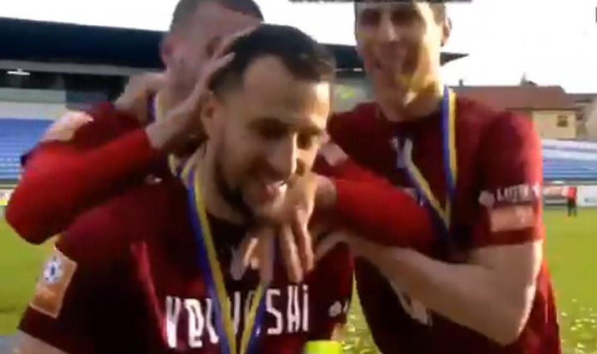 """Igrači Sarajeva nisu """"dopustili"""" Velkoskom da da izjavu nakon meča"""