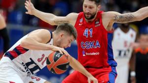 CSKA umalo prosuo sigurnu pobjedu protiv Baskonie