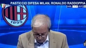 Pogledajte reakcije čuvenog komentatora na golove Milana: Treći gol je izazvao erupciju!
