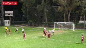 Igrači Sarajeva nisu znali šta ih je snašlo kada je Gruzijac krenuo ka golu