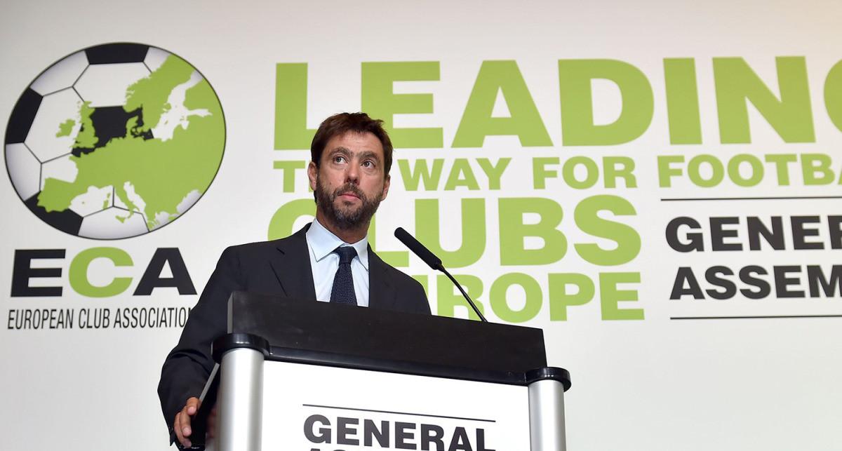 Agnelli ponovo na vrhu ECA-e, spreman da 'skrati' pet najjačih evropskih liga