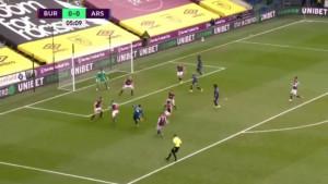 """Aubameyang """"zalomio"""" odbranu Burnleyja i pogodio za 1:0"""