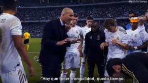 Zidane oduševio sve: Na poseban način motivisao igrače pred produžetke